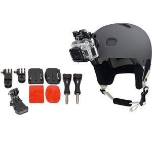 GoPro Helmet Front Mount Bundle With Adhesive Pads